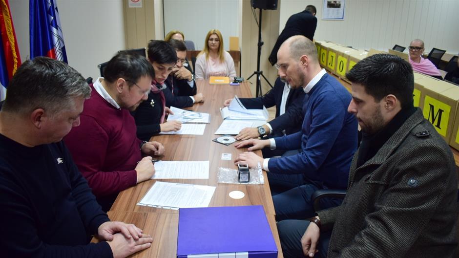 ДС, СПС и СРС предали изборне листе за изборе у Београду