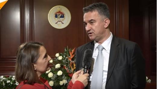 Дарко Младић: Пренећу оцу да ме је на прослави Дана РС на сваком кораку народ заустављао да га поздрави; то је за њега највећа снага и највећа потврда да је оно што је радио било исправно