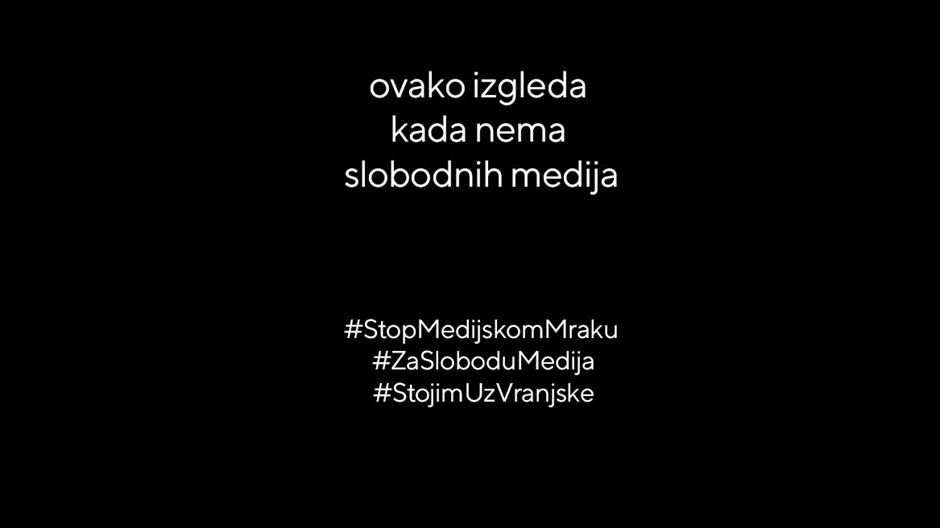 """Јуком: У акцији """"Стоп медијском мраку"""" учествовало је више од 300 медија и организација, кампању у првих 24 сата видело 482.000 грађана"""