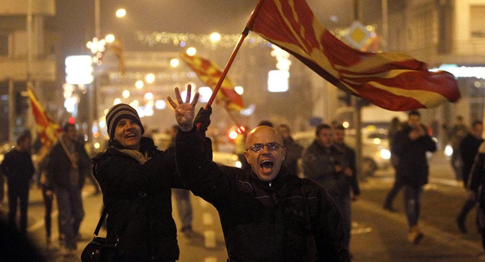 Македонија: Организован протест против Тиранске платформе