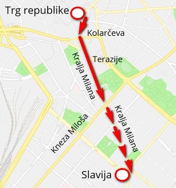 Blic Zbog Manifestacije Pesacki Vikend I Ove Subote I Nedelje