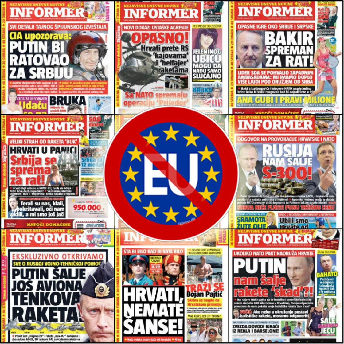 Немачки медији: Вучићевој таблоидној Србији није место у ЕУ 2