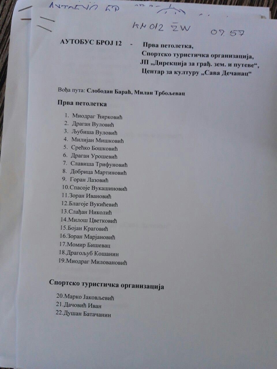 Из целе Србије стижу вести о присилном довођењу људи на Вучићев митинг у Београду (фото) 3