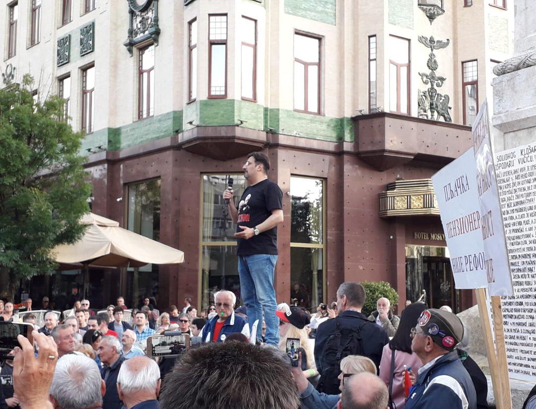 """Двадесет пети протест """"1 од 5 милиона"""" у Београду (фото, видео) 5"""