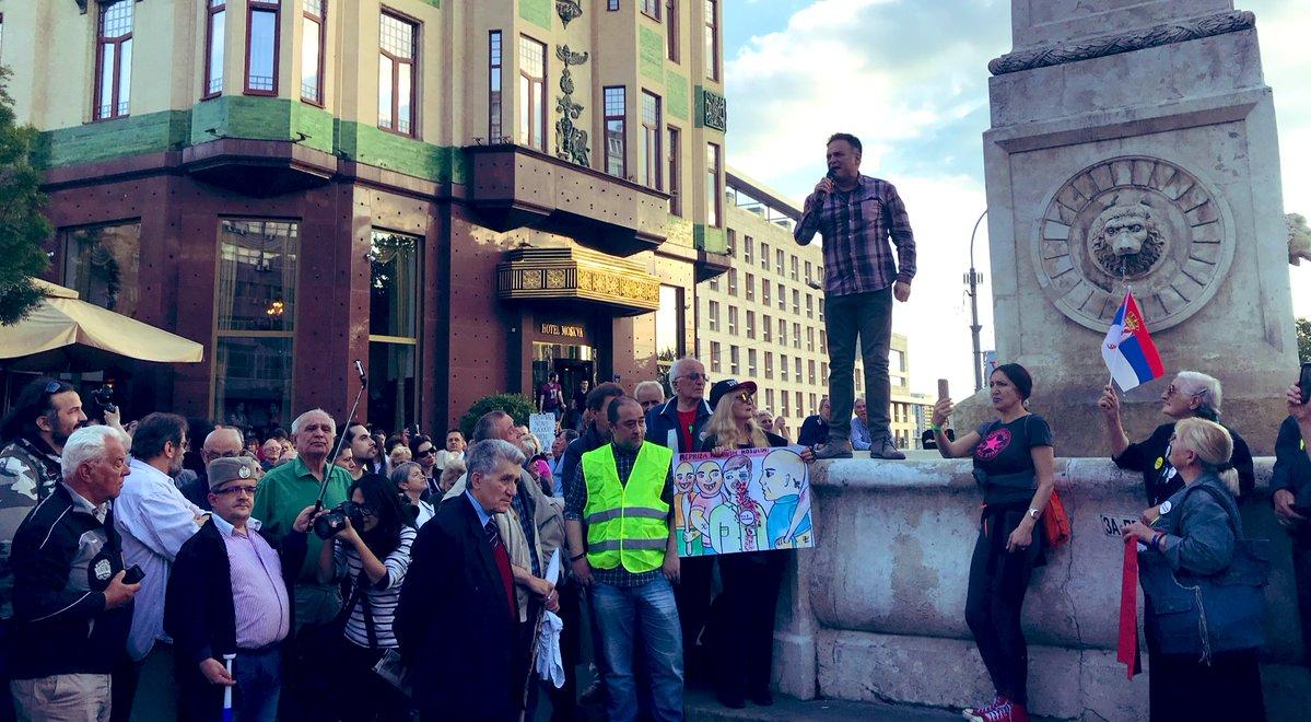 """Двадесет пети протест """"1 од 5 милиона"""" у Београду (фото, видео) 3"""