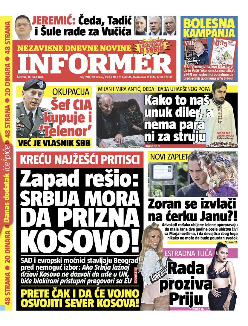 informer novine hronika