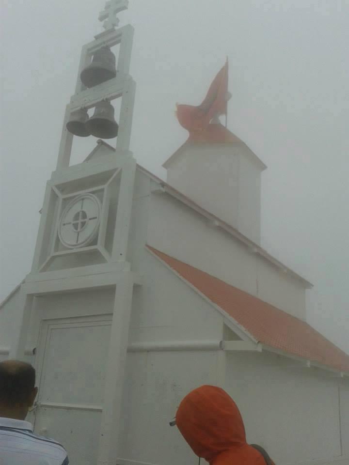 На цркви Свете Тројице на Румији постављена застава Албаније