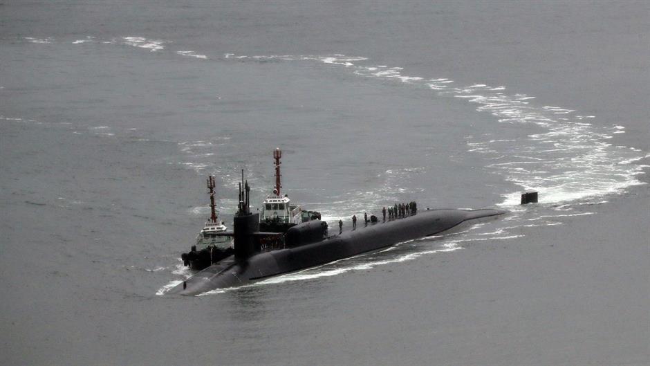 Америчка војна подморница стигла у Јужну Кореју
