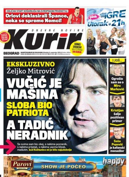 Željko Mitrović za