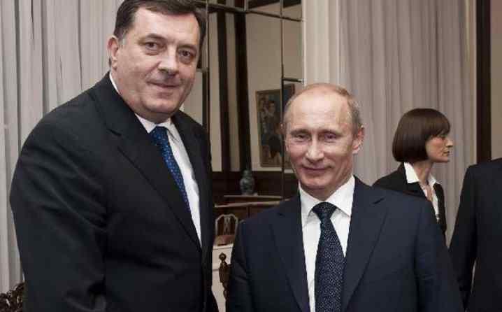 Блиц: Путин свађа Вучића и Додика
