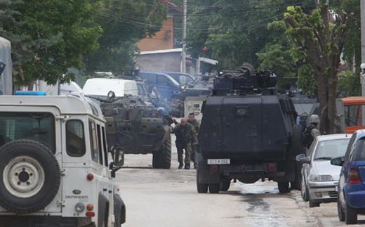 Албанские террористы из Косова и Метохии вошли в Македонию