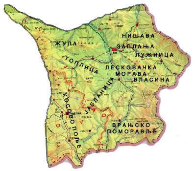 mapa juzne srbije Kratka istorija propasti jugoistočne Srbije | Kuda ide Srbija mapa juzne srbije