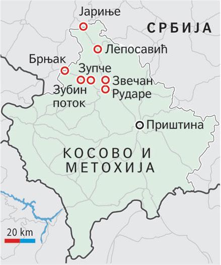 Kosovska Mitrovica Veselinoviu pritvor od mesec dana Repi puten