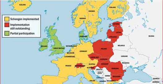 mapa nemacke republike Hans Peter Fridrih: Nemačka će sprečiti ulazak Bugarske i Rumunije  mapa nemacke republike