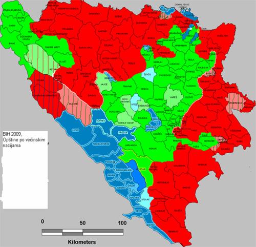 ... promena u BiH 1971-2011. | Sudbina dejtonske BiH i Republika Srpska